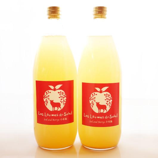黄金桃と白桃のジュース